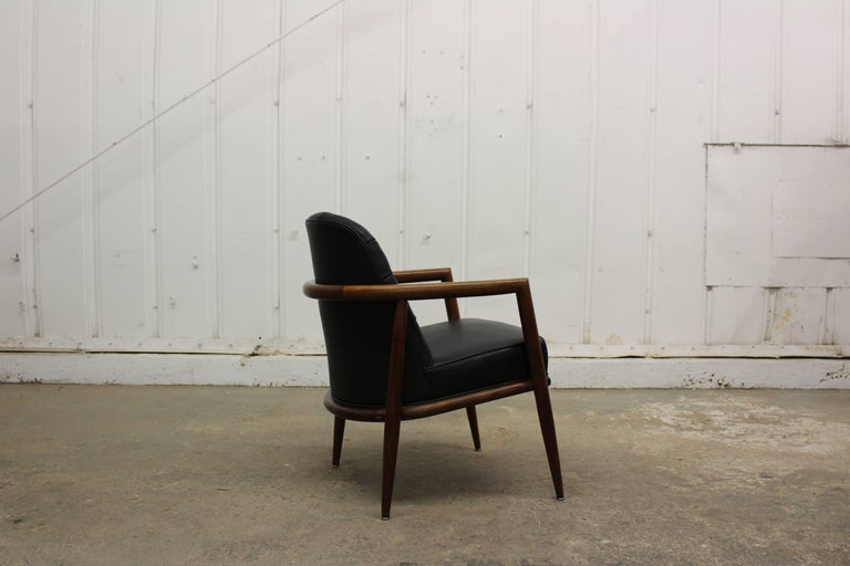 Mid-Century Modern Armchair by T.H. Robsjohn-Gibbings For Sale