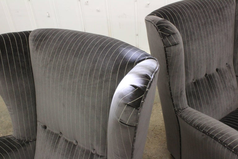 Pair of Armchairs by Paolo Buffa, Italy, 1950s For Sale 2