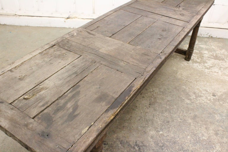 17th Century English Oak Refectory Table For Sale 3