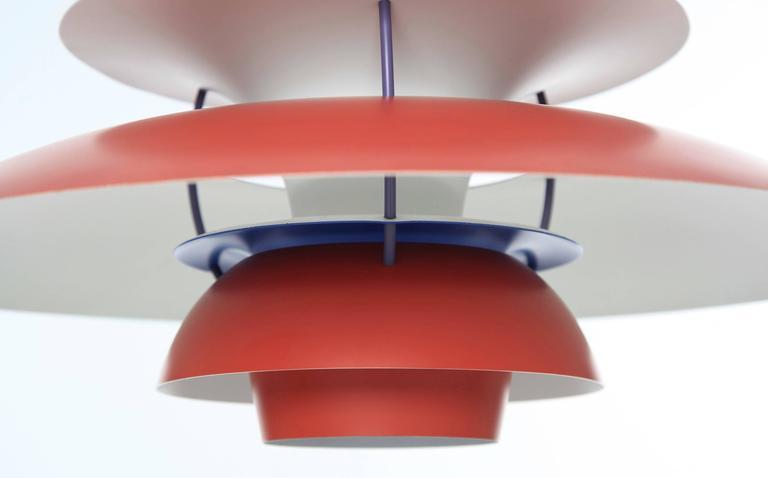 ph5 pendant lamp by poul henningsen for louis poulsen denmark for sale at 1stdibs. Black Bedroom Furniture Sets. Home Design Ideas