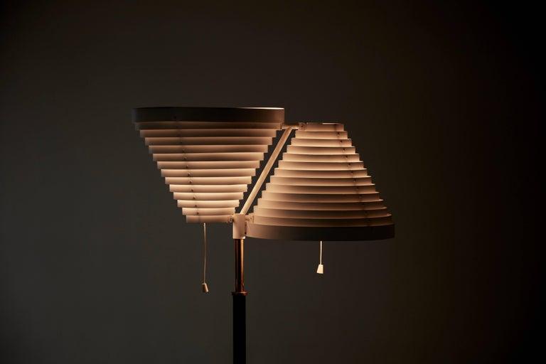 20th Century Alvar Aalto A810 Floor Lamp, Valaisinpaja Oy, Finland For Sale