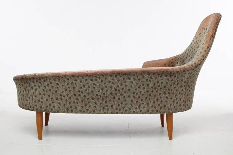 20th Century Kerstin Horlin-Holmquist Garden of Eden / Lustgarden Chaise Longue, 1950s For Sale