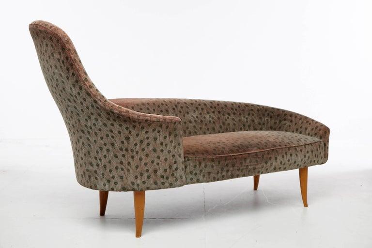 Swedish Kerstin Horlin-Holmquist Garden of Eden / Lustgarden Chaise Longue, 1950s For Sale