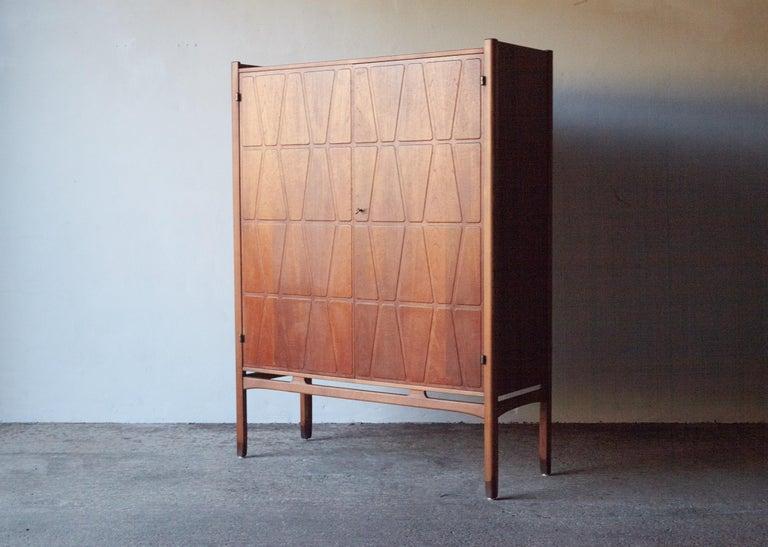 Bangkok Cabinet by Yngve Ekström 'Ekstrom' for Westbergs Mobler, 1950s, Sweden In Good Condition For Sale In London, GB