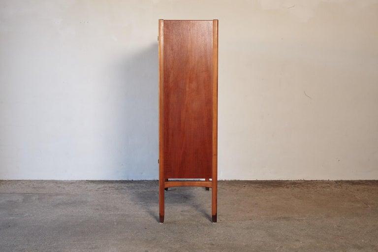 Wood Bangkok Cabinet by Yngve Ekström 'Ekstrom' for Westbergs Mobler, 1950s, Sweden For Sale