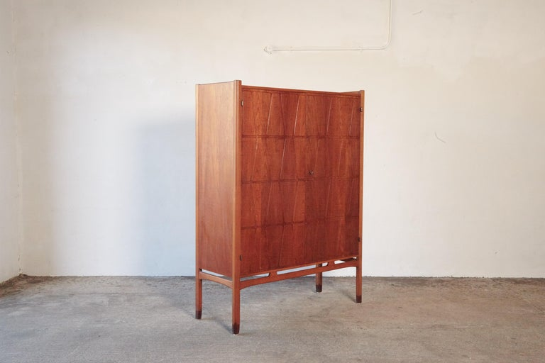20th Century Bangkok Cabinet by Yngve Ekström 'Ekstrom' for Westbergs Mobler, 1950s, Sweden For Sale