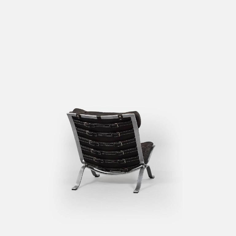 Arne Norell Ari Lounge Chair and Ottoman, 1970s, Sweden 5