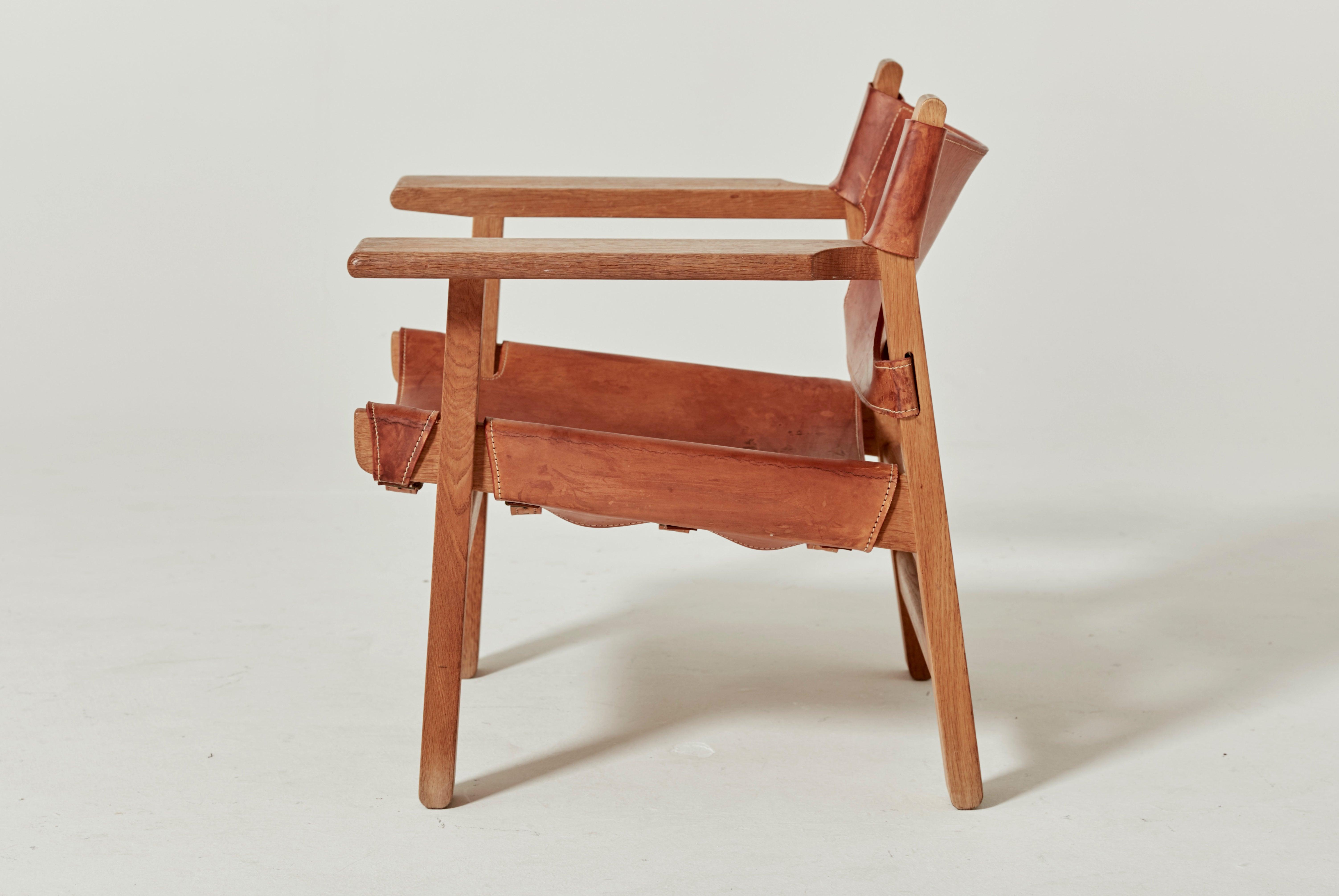 børge mogensen spanish chair for fredericia 1960s denmark for sale