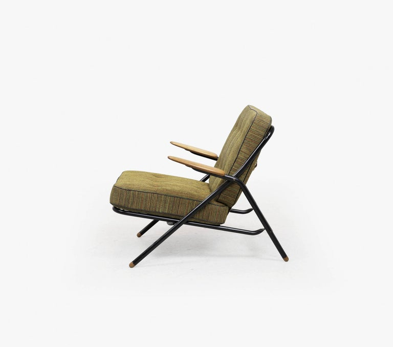 Rare Hans Wegner GE215 Sawbuck Chair, Denmark, 1950s 4