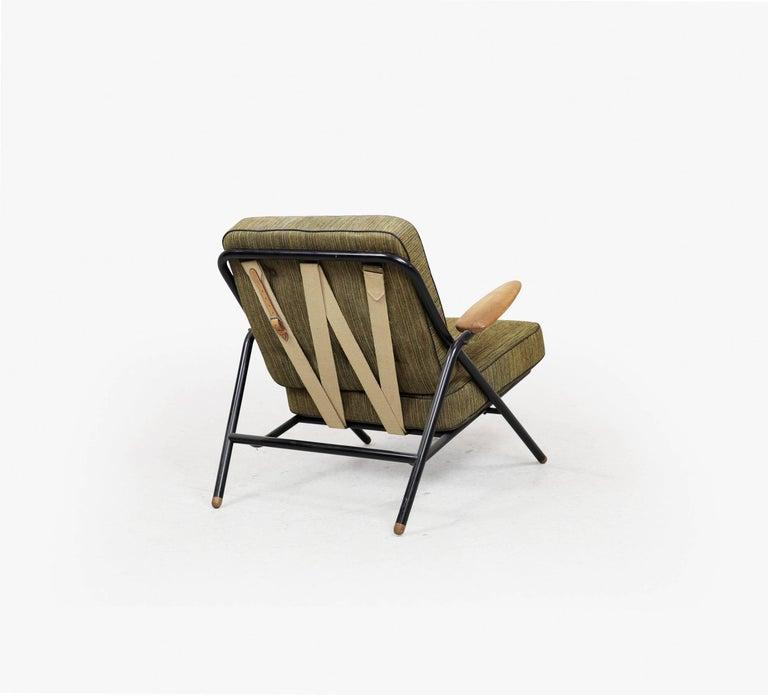 Rare Hans Wegner GE215 Sawbuck Chair, Denmark, 1950s 5