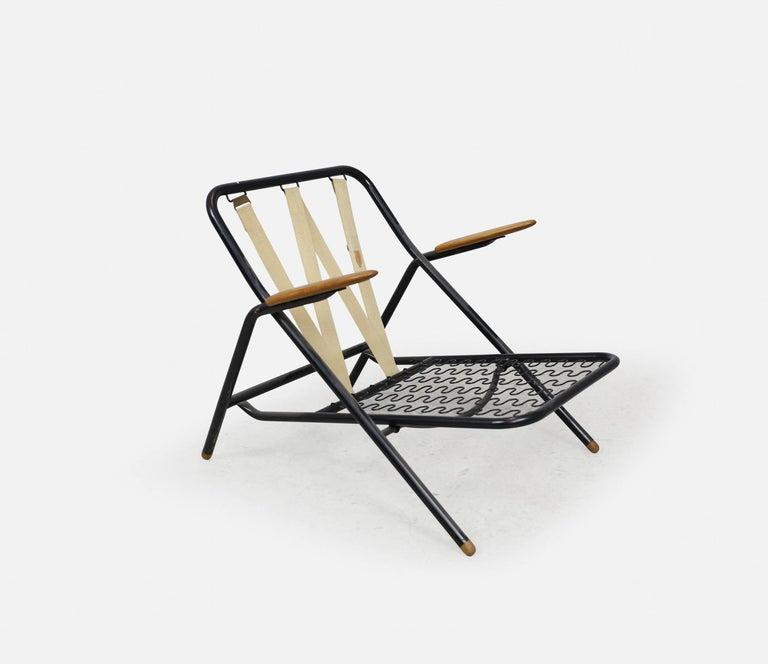 Rare Hans Wegner GE215 Sawbuck Chair, Denmark, 1950s For Sale 2