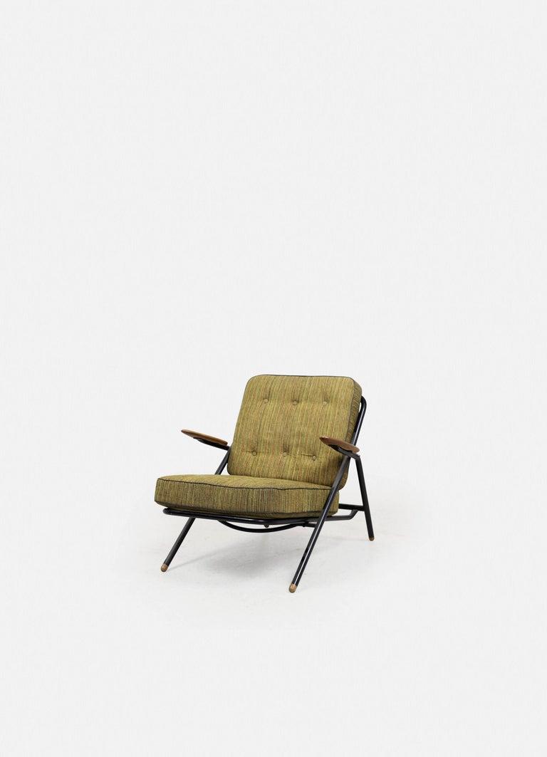 Rare Hans Wegner GE215 Sawbuck Chair, Denmark, 1950s 2