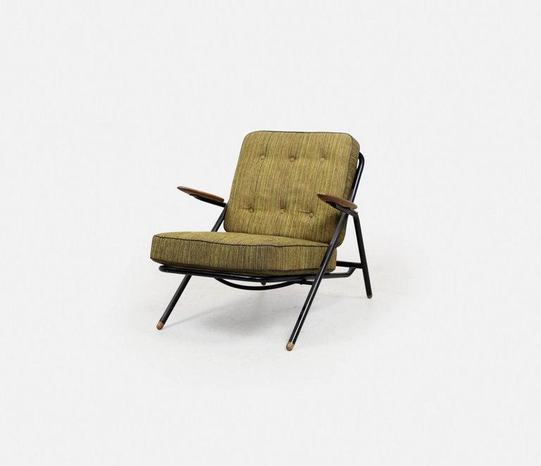 Rare Hans Wegner GE215 Sawbuck Chair, Denmark, 1950s 3