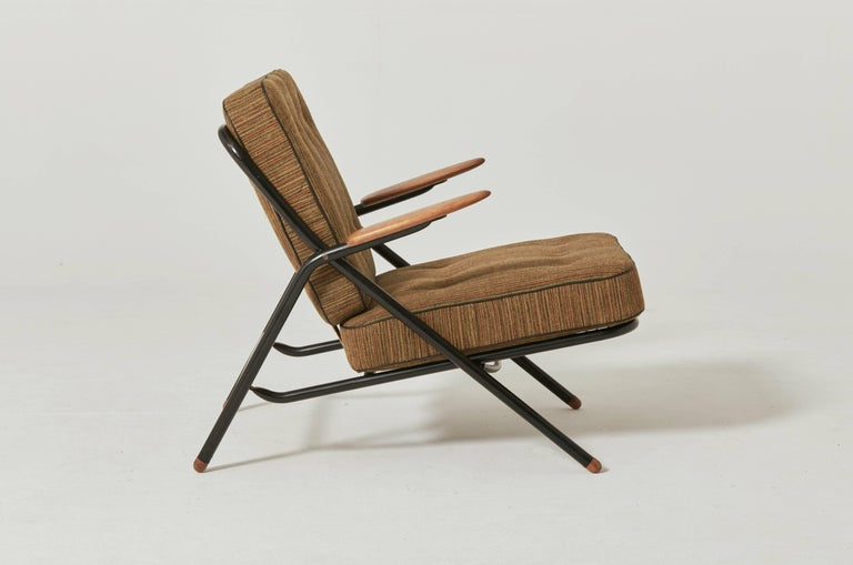 Rare Hans Wegner GE215 Sawbuck Chair, Denmark, 1950s In Excellent Condition For Sale In London, GB