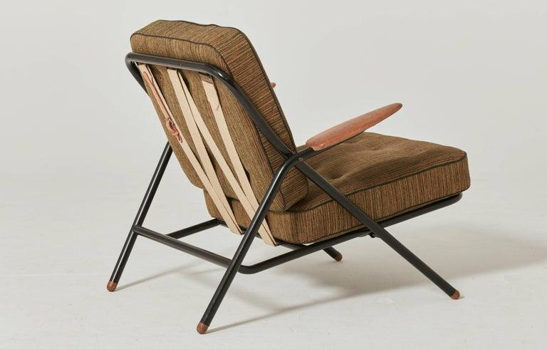 Danish Rare Hans Wegner GE215 Sawbuck Chair, Denmark, 1950s For Sale