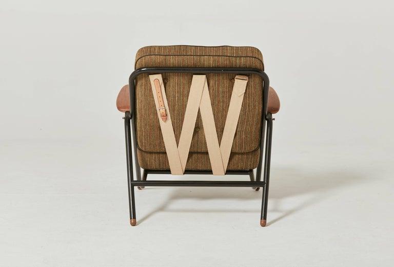 Mid-Century Modern Rare Hans Wegner GE215 Sawbuck Chair, Denmark, 1950s For Sale