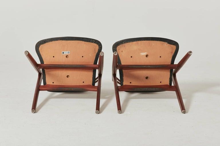 Set of Six Hans Wegner CH-29 Sawbuck Dining Chairs, Carl Hansen, Denmark For Sale 1