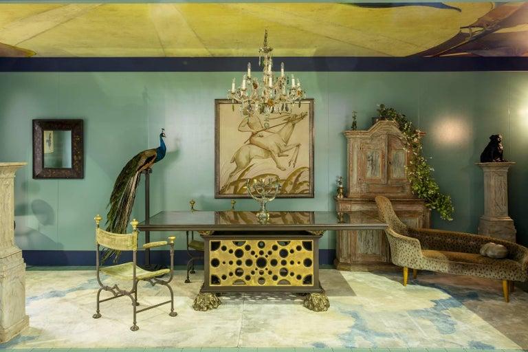 Kerstin Horlin-Holmquist Garden of Eden / Lustgarden Chaise Longue, 1950s For Sale 3