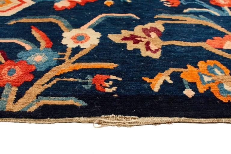 Vintage Tibetan Wool Rug For Sale At 1stdibs