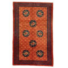 Vintage Pao Tu Wool Rug