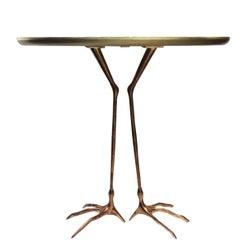 """""""Traccia"""" Table by Meret Oppenheim for Simon Collezione, circa 1970s"""