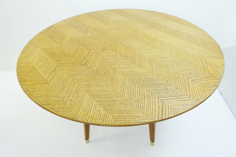 Mid-Century Modern Rond Dinning Table by Gio Ponti, Italy, 1950s For Sale