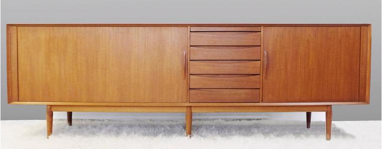 1960s Teak Sideboard Designed by Arne Vodder for Sibast Møbler, Denmark 2