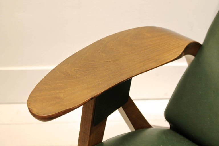 1980s Zanotta Italy Reissue of Carlo Mollino's Iconic 1950s Modulable Armchair In Good Condition For Sale In Brussels, BE