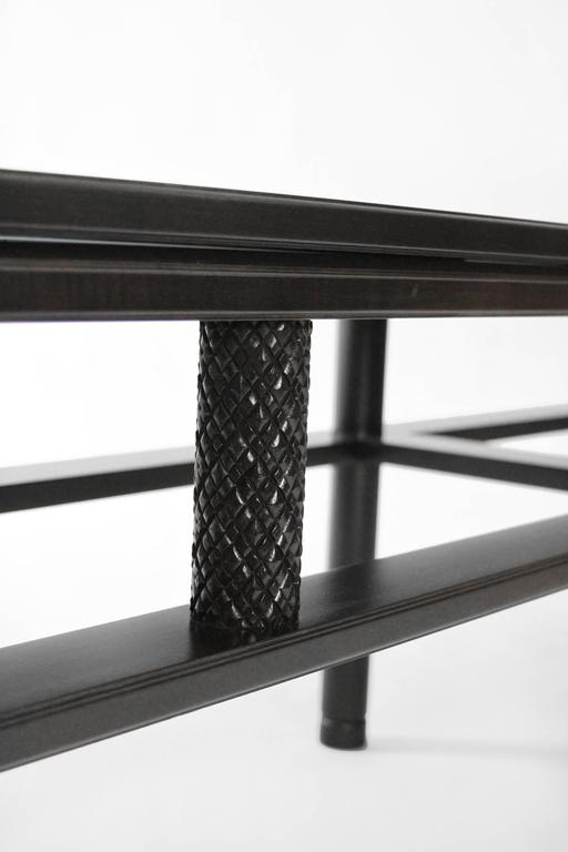 American Olneyville Table or Sofa in Ebonized Maple For Sale