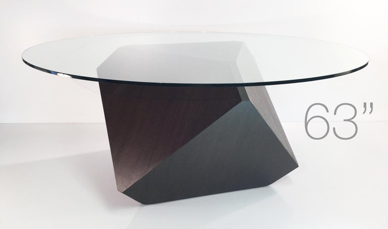 Contemporary william earle's iconic Hal dining pedestal, 72
