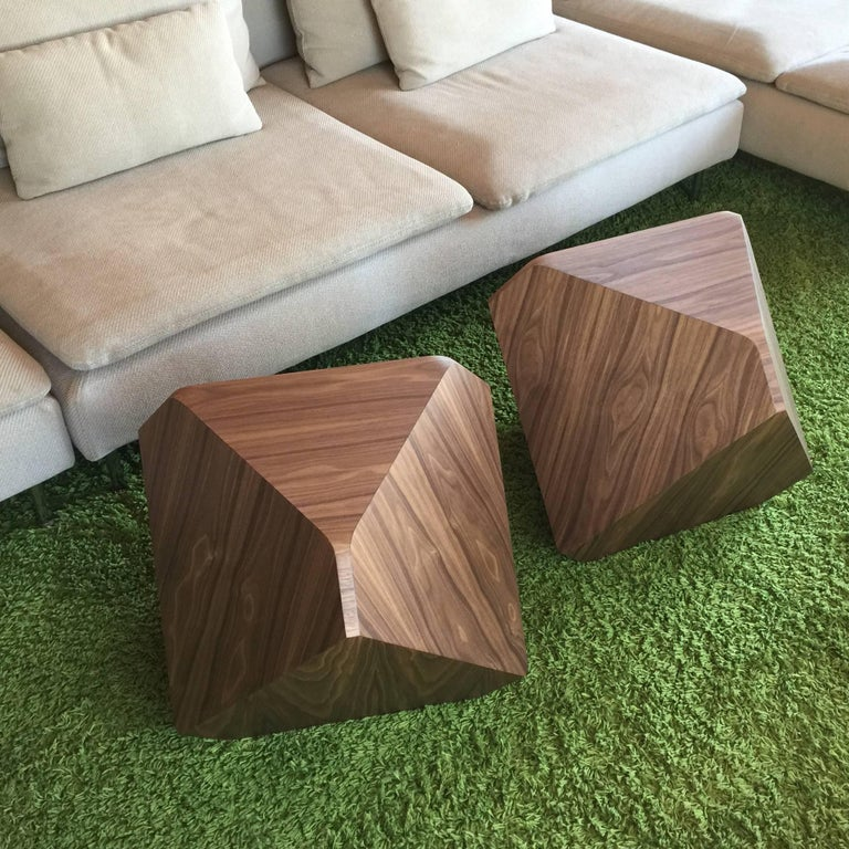 William Earle Hal the first faceted table or stool designed 2000 8