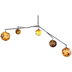 Cassiopeia 5, Porcelain Discovery Mobile Chandelier