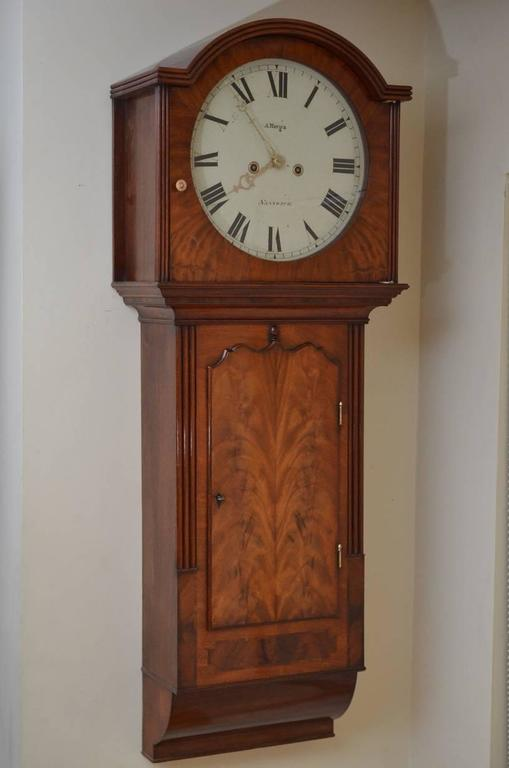 Fine And Unusual George Iii Wall Clock By A Merga At 1stdibs