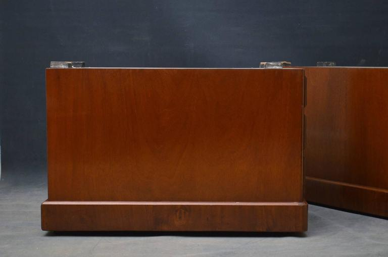 Large Victorian Mahogany Pedestal Desk At 1stdibs