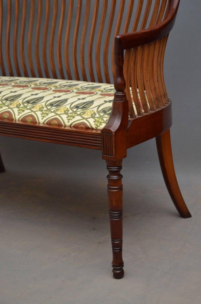 arts and crafts mahogany sofa at 1stdibs. Black Bedroom Furniture Sets. Home Design Ideas