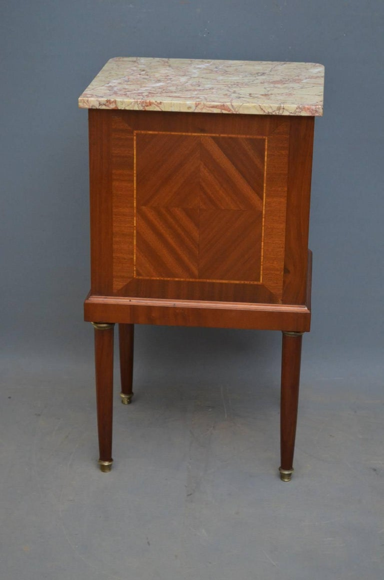 Pair Of Antique Bedside Cabinets For 3