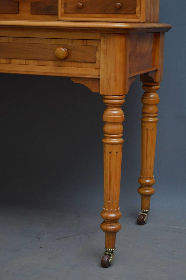 Victorian Satinwood Dressing Table At 1stdibs