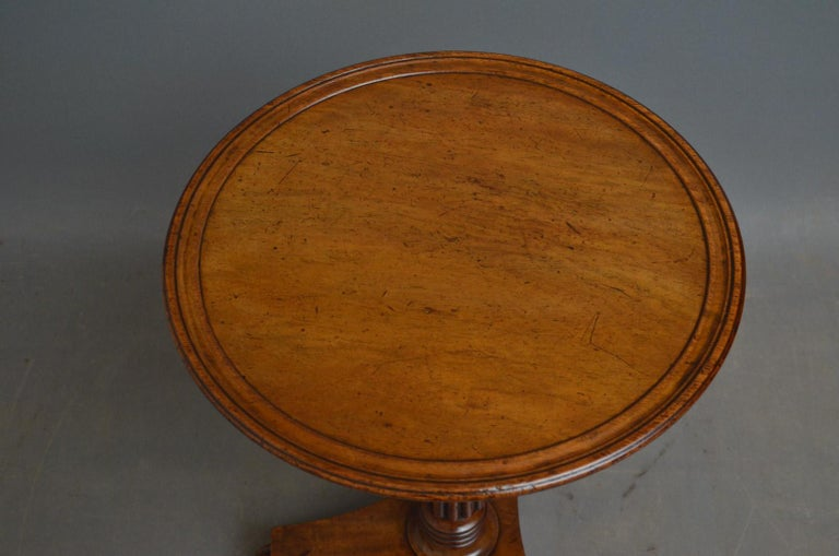 English Regency Coffee Table in Mahogany For Sale