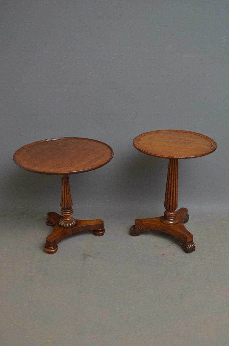 Regency Coffee Table in Mahogany For Sale 3