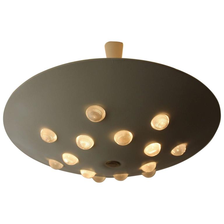 Chandelier Ceiling Light by Stilnovo Italy 1950-1960