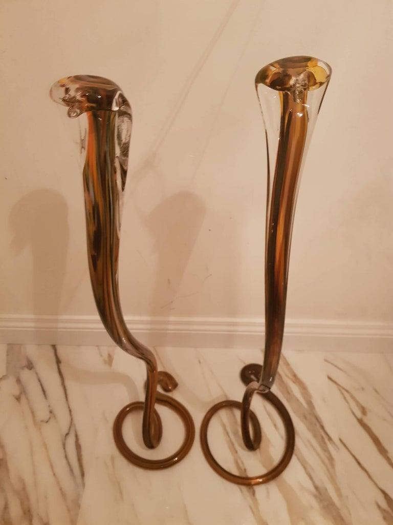 Set of Murano Cobras, 1980-1990 For Sale 4