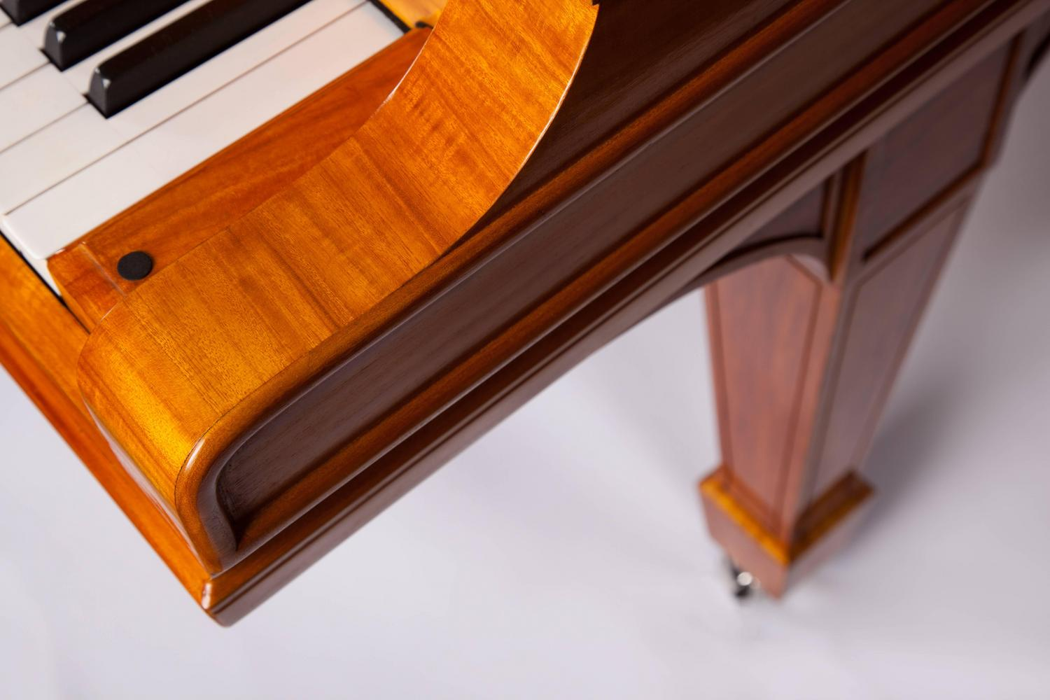 Steinway and sons l grand piano lemon wood handpolished