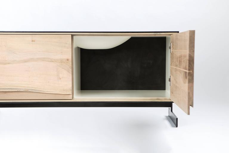 PW Outside in Credenza by Patrick Weder, Maple and Concrete 4