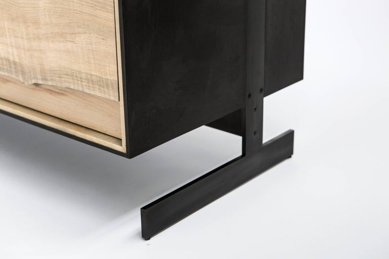 PW Outside in Credenza by Patrick Weder, Maple and Concrete 5