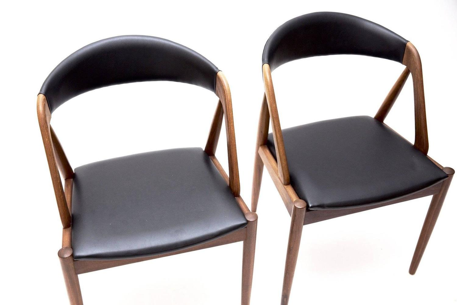 Set Of Four Kai Kristiansen Chairs Model 31 At 1stdibs