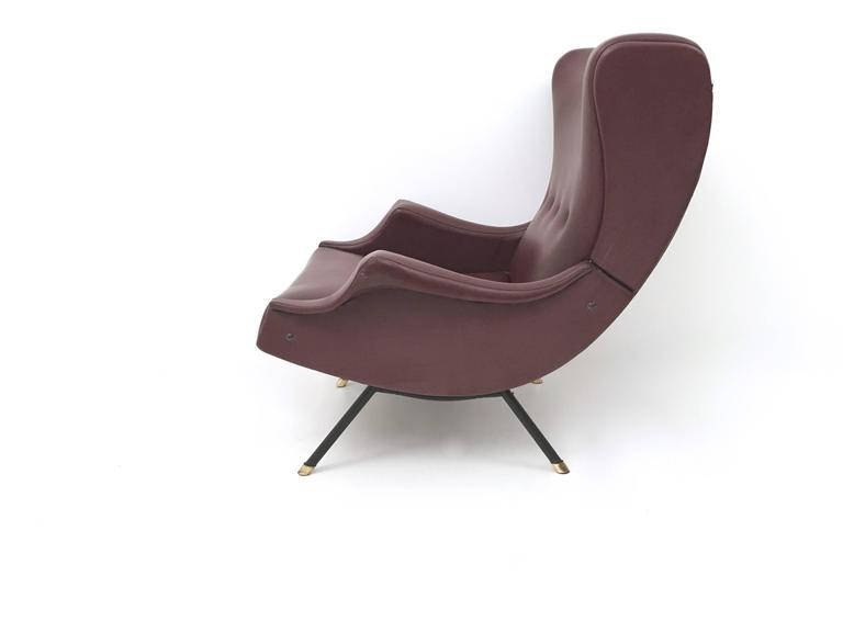 Italian Lounge Chair, 1950s In Good Condition For Sale In Bresso, Lombardy