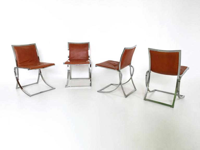 Dining room set ascribable to vittorio introini with table for 1970 dining room set