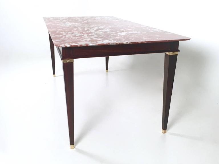Marble and Wood Dining Table by Paolo Buffa Italy 1950s  : IMG7965l from www.1stdibs.com size 768 x 576 jpeg 19kB