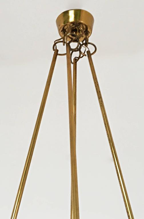 Chandelier Attributed to Gino Sarfatti, Italy, 1940s For Sale 1