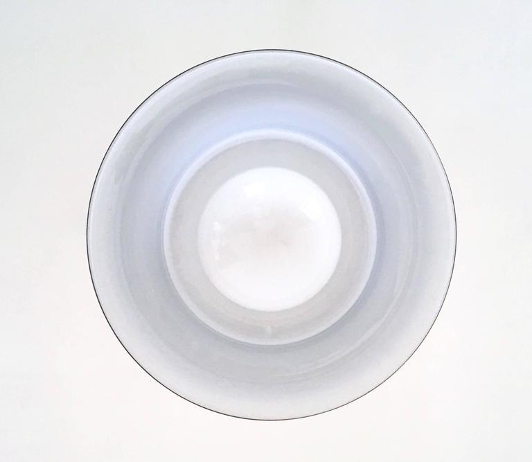 Murano Glass Pendant Ascribable to Alessandro Pianon for Vistosi, Italy, 1960s In Excellent Condition For Sale In Bresso, Lombardy